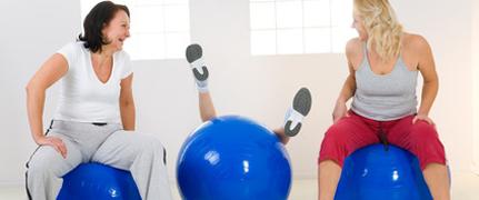 Faire du sport entre amis